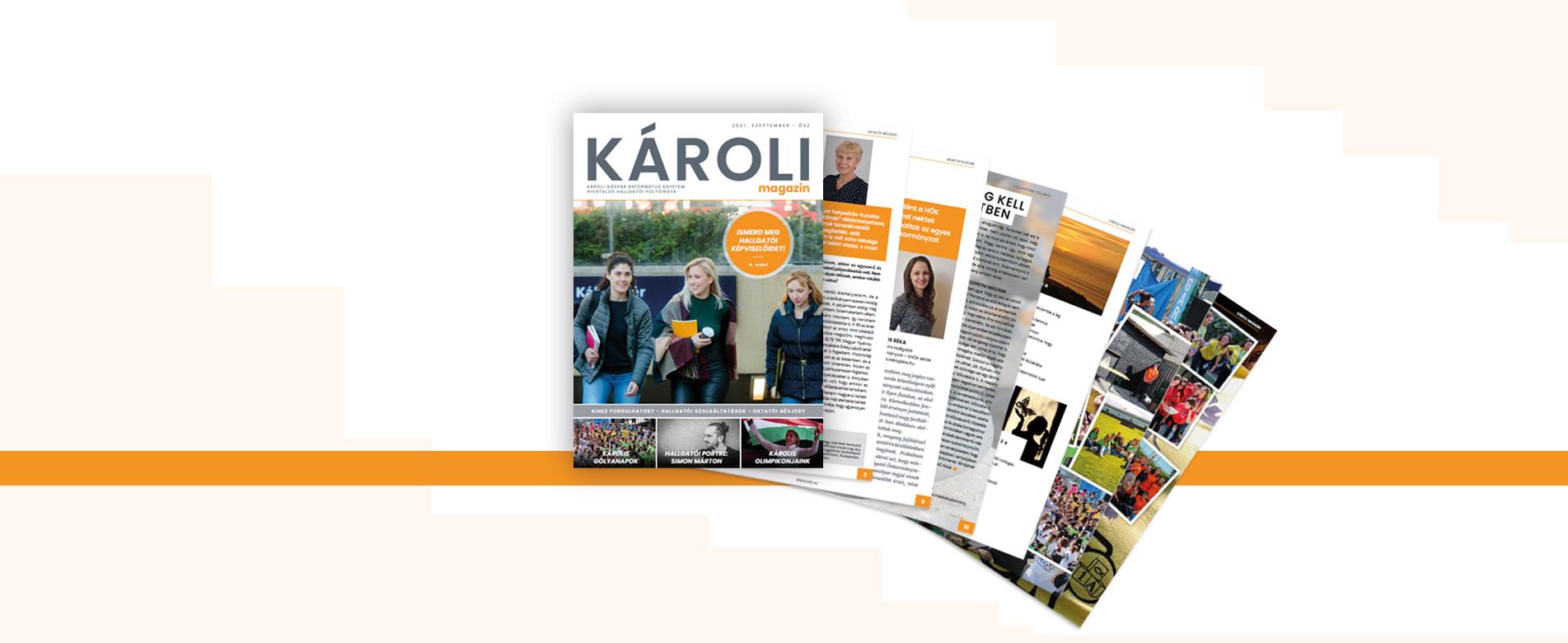 Megjelent a Károli Magazin legfrissebb száma!